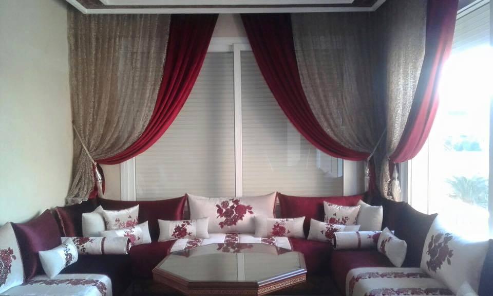 design moderne 2019 pour salon marocain confortable d co salon maroc. Black Bedroom Furniture Sets. Home Design Ideas