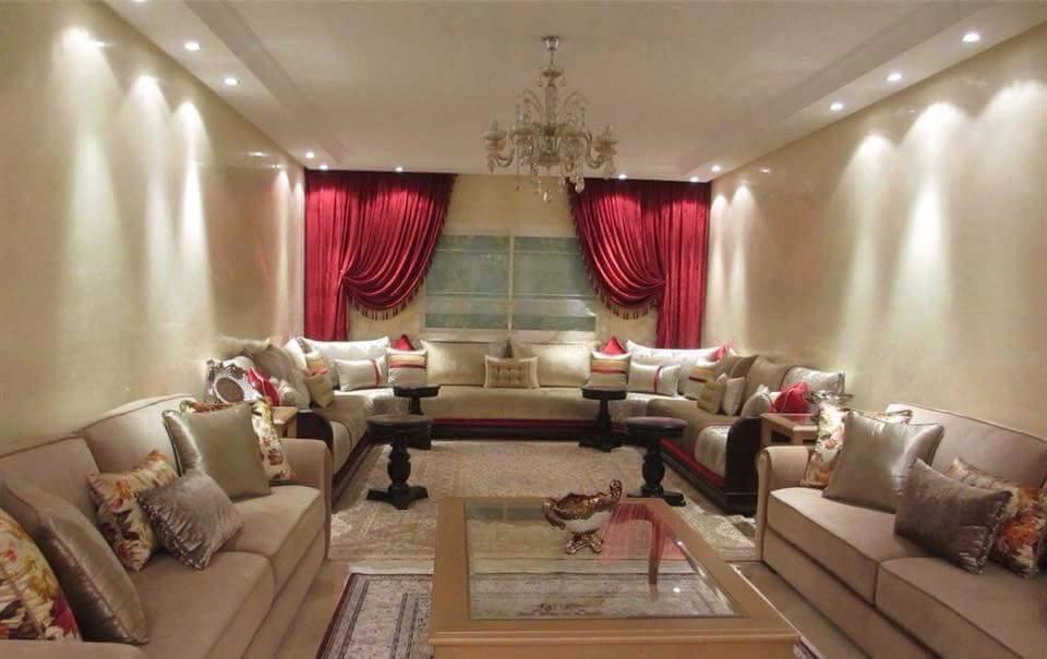 Décoration salon marocain moderne 2019 - Déco Salon Maroc