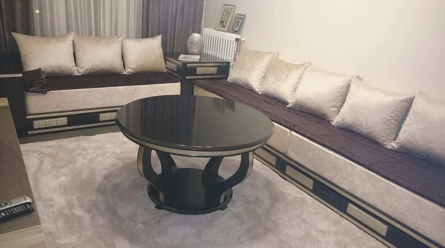 Tables pour salon marocain moderne 2019 - Déco Salon Maroc