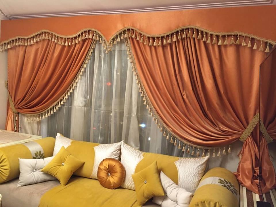 Nouveaux modèles de rideau salon marocain 2019 - Déco ...