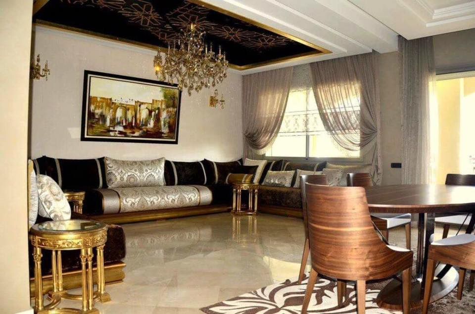 commandez en ligne un salon marocain pas cher d co salon maroc. Black Bedroom Furniture Sets. Home Design Ideas