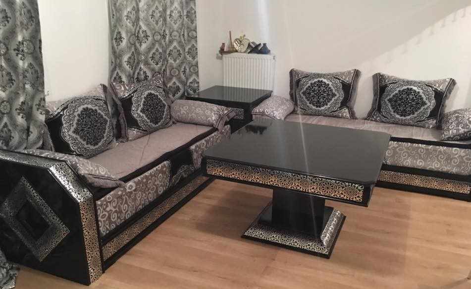 salon marocain moderne mod les 2019 d co salon maroc. Black Bedroom Furniture Sets. Home Design Ideas