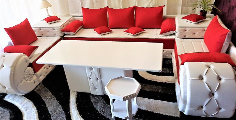 Achetez un salon marocain contemporain en ligne – Déco Salon ...