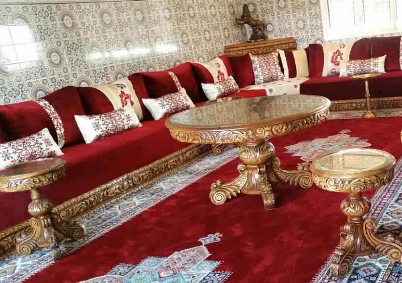 Collection 2019 Pour Salon Marocain Traditionnel En Bois Déco