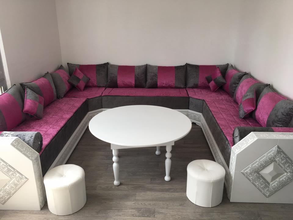 commandez en ligne un salon marocain pas cher d co salon maroc. Black Bedroom Furniture Sets. Home Design Ideas