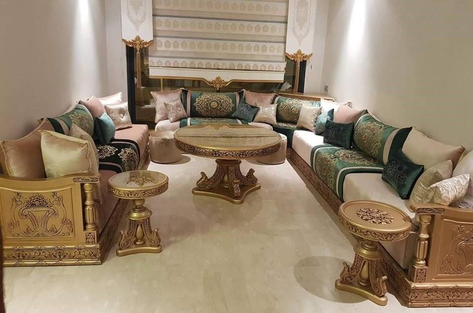 Salon Marocain Moderne De Luxe – Friseur