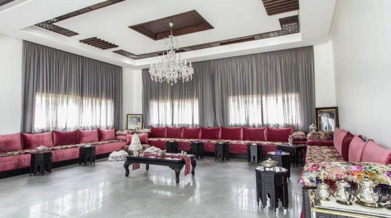 Salon Marocain 2018 Simple