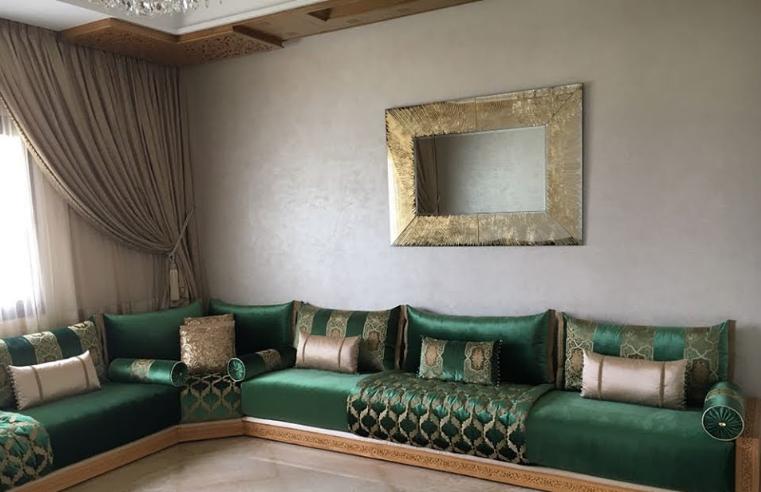 Tissus marocains pour salon moderne confortable – Déco Salon ...