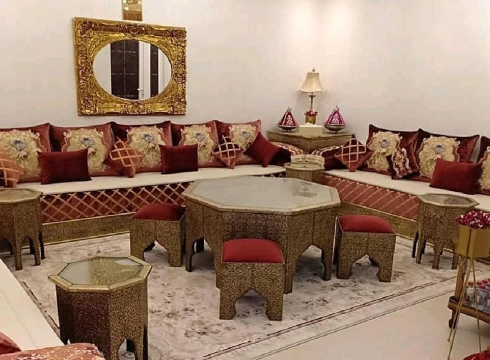 Salon marocain traditionnel 2019 à vendre pas cher - Déco Salon Maroc