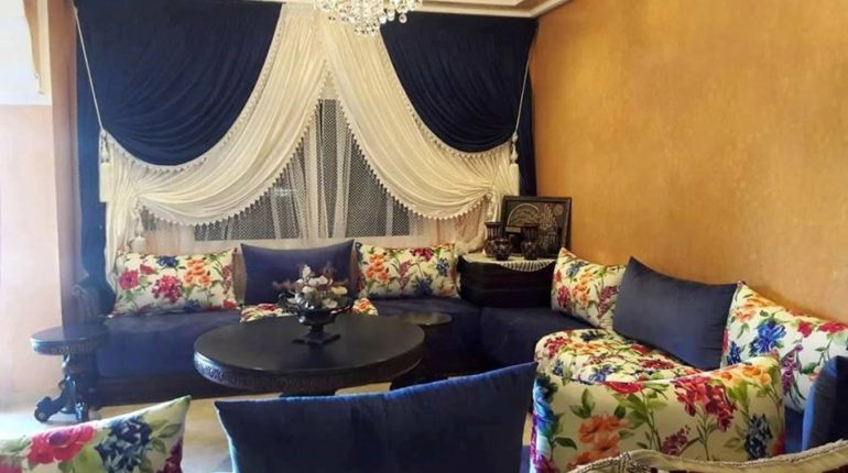 Rideaux 2019 - Déco Salon Maroc