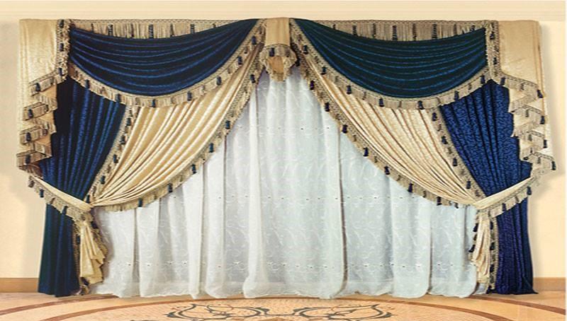 Rideaux pour salon marocain moderne - Déco Salon Maroc