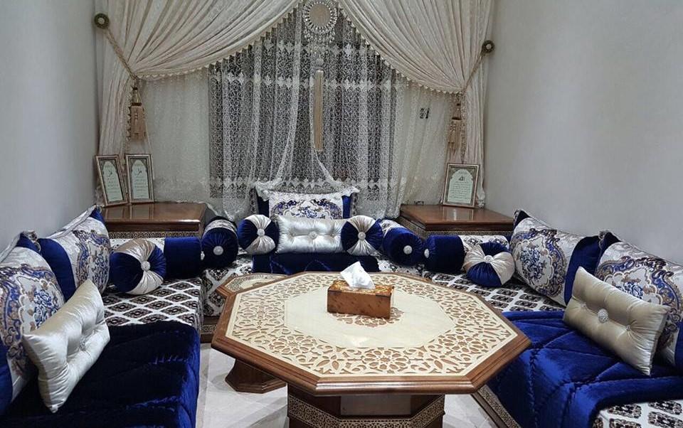 Magasin de vente salon marocain traditionnel en bois - Déco Salon Maroc