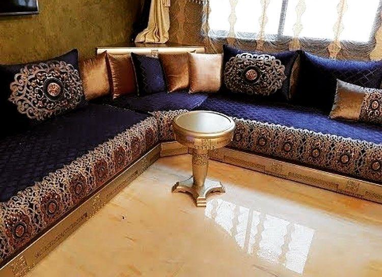 Cendriers pour décoration salon marocain moderne - Déco Salon Maroc