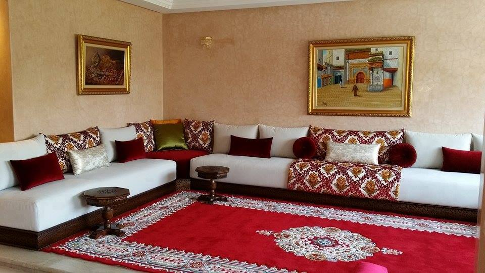 magasin en ligne salon marocain moderne pas cher d co. Black Bedroom Furniture Sets. Home Design Ideas
