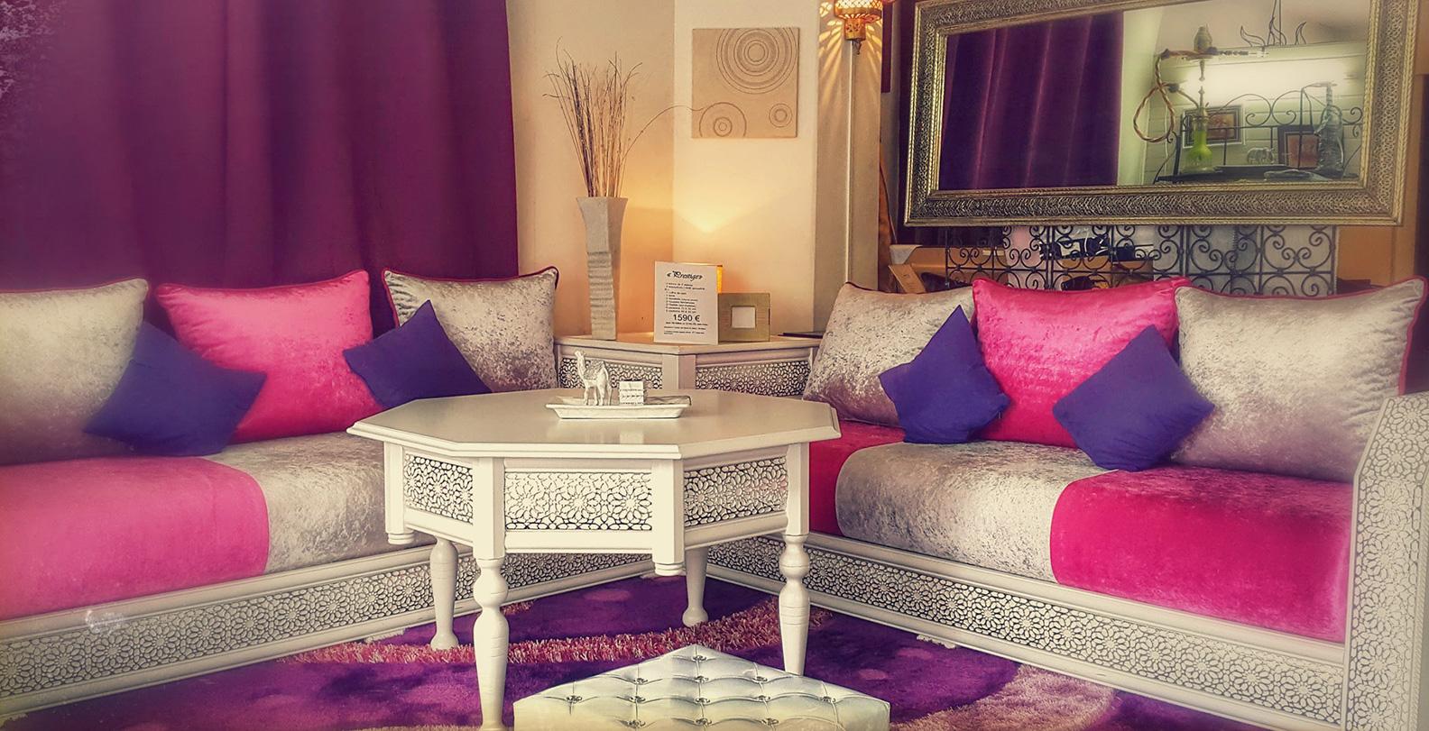 Salon Marocain Maroc Prix salon moderne 2019 et mobilier marocain – déco salon maroc