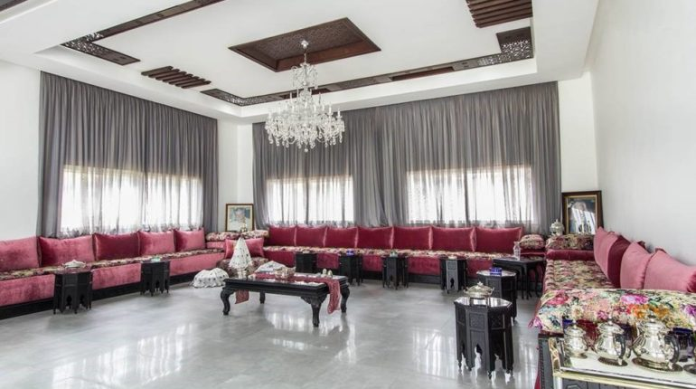 idée salon marocain 2019 Archives - Déco Salon Maroc