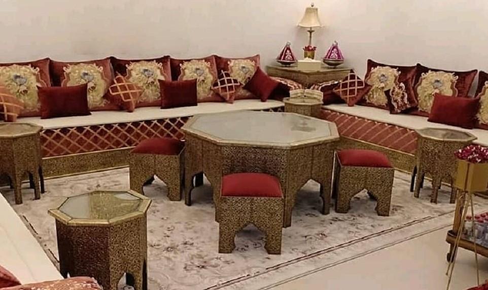 Salon marocain traditionnel 2019 à vendre pas cher – Déco ...