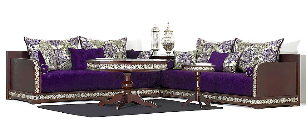 Vente salon marocain moderne richbond - Déco Salon Maroc